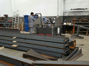 Charpente Metal Atelier